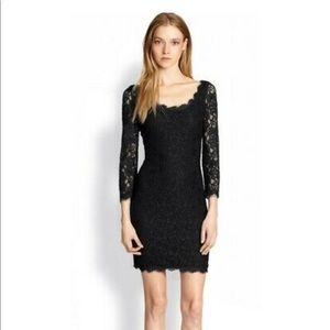 Diane von Furstenberg Lace Dress